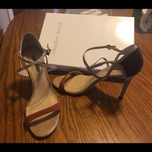 Strappy heel Sandal - great for casual or dressy